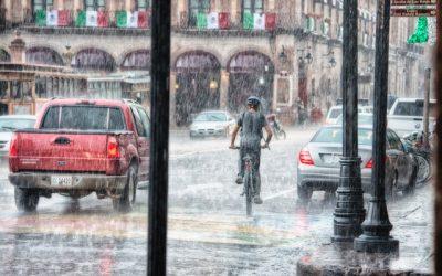 Verhuizen in de regen